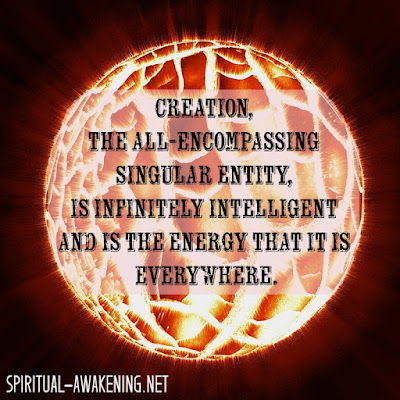 Spiritual quote about creation