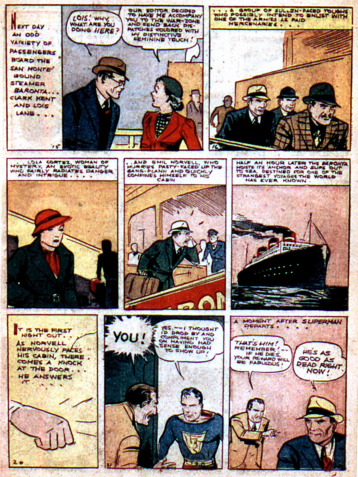 Read online Action Comics (1938) comic -  Issue #2 - 5