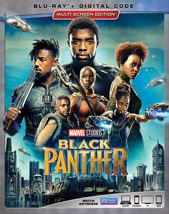 Pantera Negra (2018) HD 1080p Latino Dual