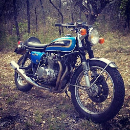 Honda CB 500 Four Cafe racer 1972