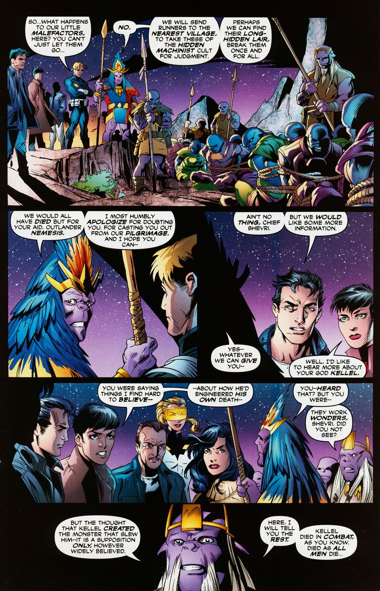 Read online Trinity (2008) comic -  Issue #35 - 20