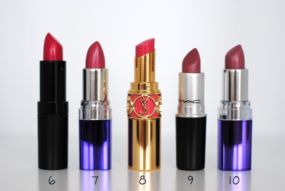 The Camilla Diaries ⎜ Blog om skønhed, mode og livsstil: Mine læbestifter: Lyserød og pink