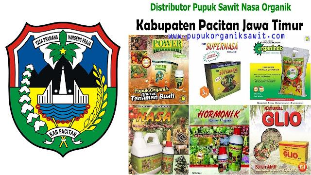 Distributor pupuk buah sawit Nasa Organik wilayah Kabupaten Pacitan Jawa Timur (JATIM).