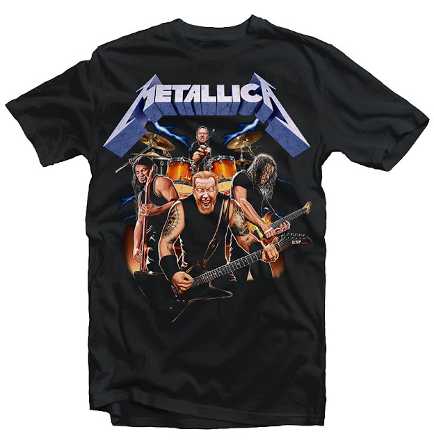metallica tshirt design