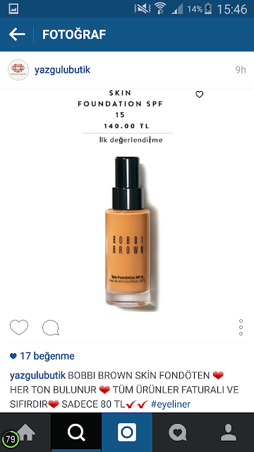BOBBİ BROWN FONDÖTEN
