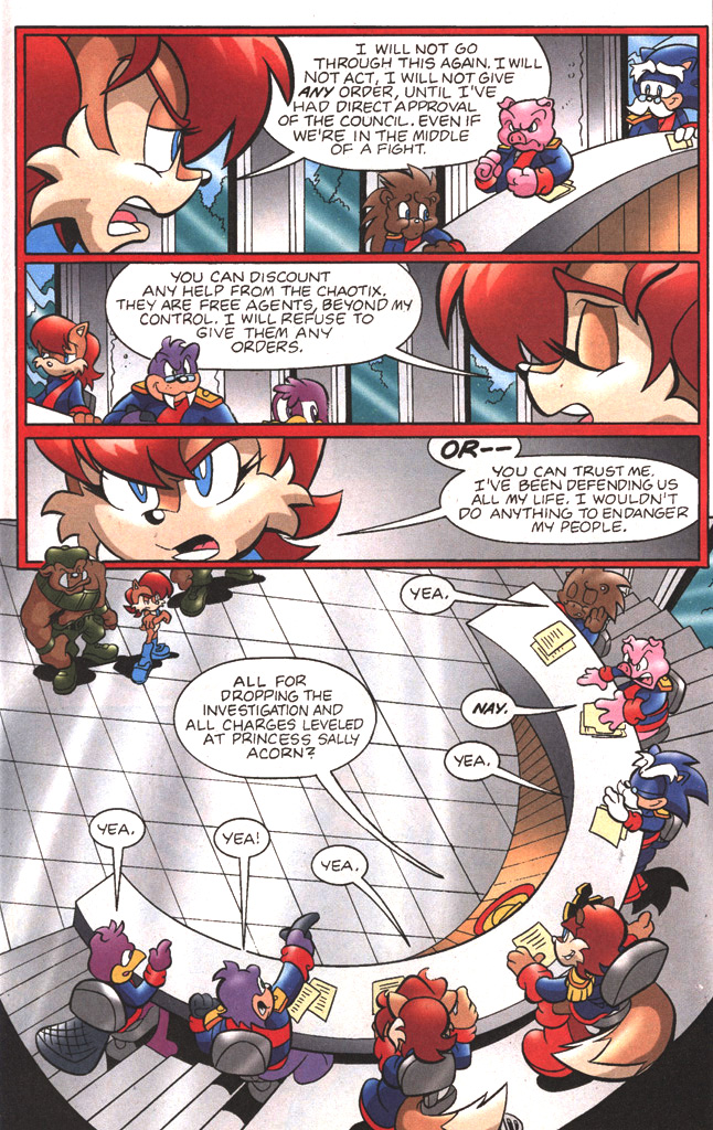 Read online Sonic The Hedgehog comic -  Issue #197 - 16