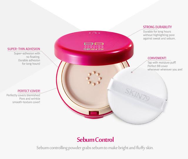 Skin79 Pink BB Pumping Cushion Detail Produk
