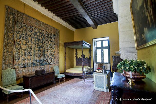 Dormitorio del Château de Losse - Dordoña Perigord por El Guisante Verde Project