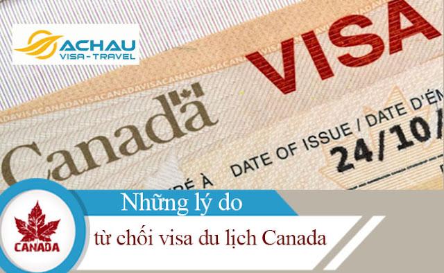 Bạn sẽ bị từ chối visa du lịch Canada khi rơi vào những tình huống này1
