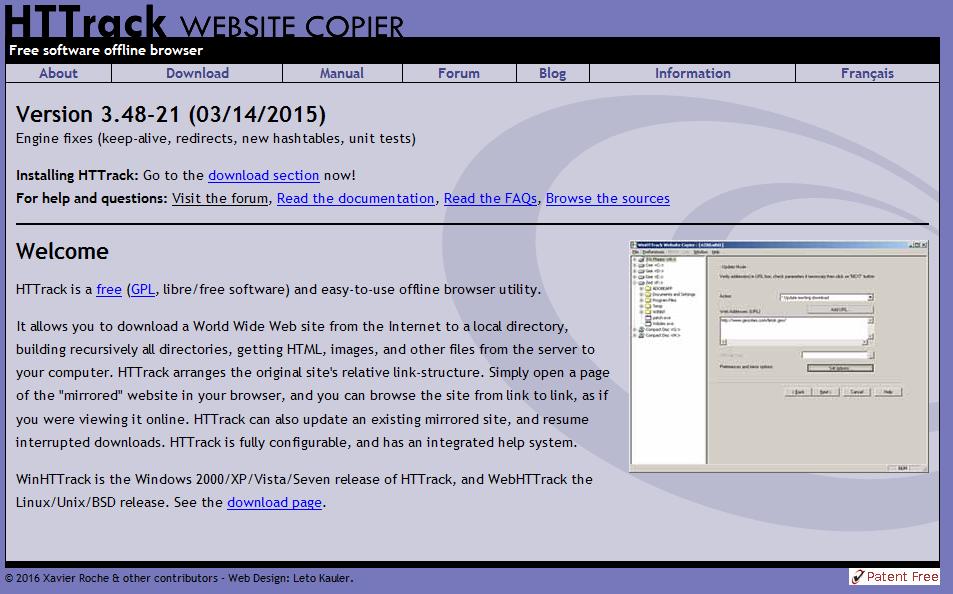 Webdev Il Static Html Website Backup Software