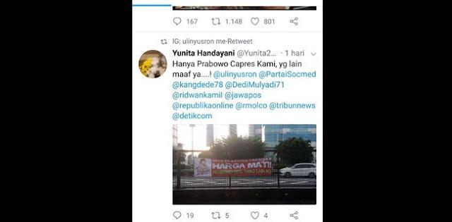 Prabowo Tak Jadi Dicalonkan, Loyalis Bisa Golput