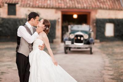Mari Cruz y Jose Manuel, una boda rústica en Soria