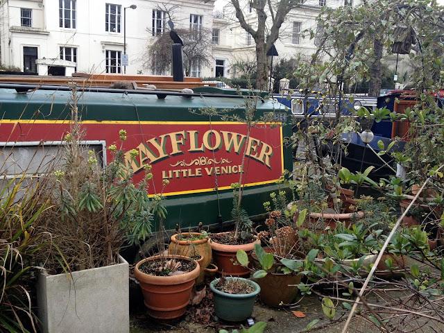 Barcos con jardines en Little Venice
