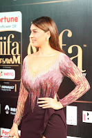 Hansika Motwani in Glittering Deep Neck Transparent Leg Split Purple Gown at IIFA Utsavam Awards 40.JPG