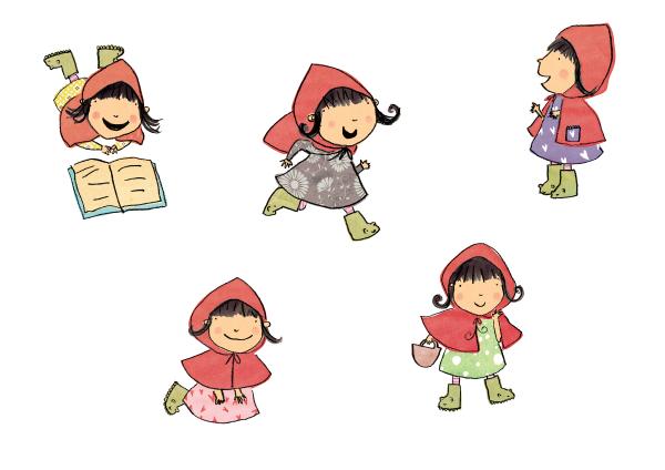 Dibujos De Caperucita Roja Para Colorear E Imprimir: Imagenes Caperucita Roja Para Imprimir