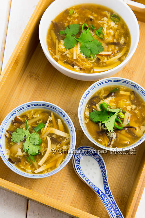 素酸辣湯 Vegetarian Hot and Sour Soup03