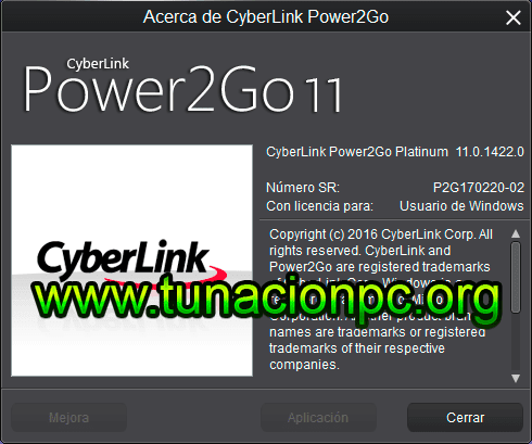 Power2Go Platinum