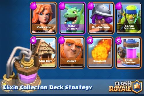 Strategi Deck Elixir Collector Arena 6 Clash Royale