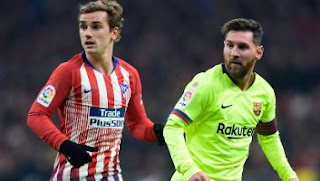 Atletico madrid vs Barcelona 1-1 Video Gol & Highlights