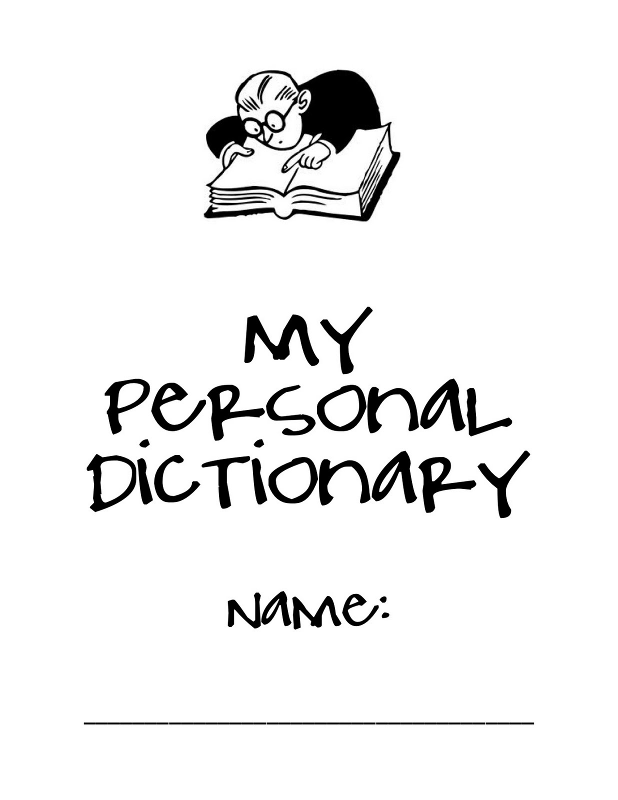 Elementary Enthusiasts: Personal Dictionary