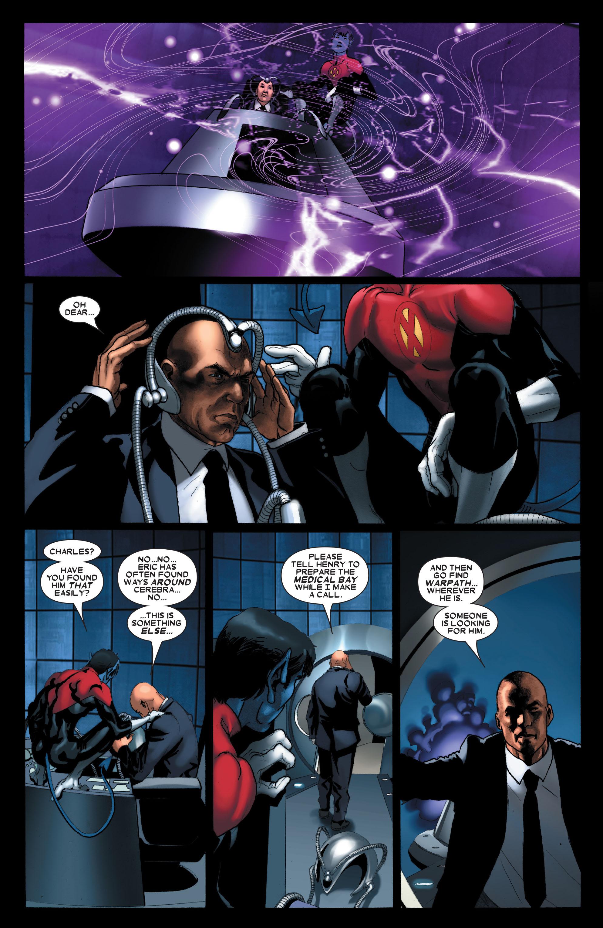 Read online Uncanny X-Men (1963) comic -  Issue #487 - 10