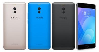 Spesifikasi Meizu M6     Kamera belakangnya memakai sensor RGBW yang berpadu dengan Dual Tone LED Flash untuk menghasilkan foto minim noise yang terlihat berkualitas. Lalu untuk bagian depan, mengandalkan kamera 8 Megapixel yang memiliki 4-element lensa dan aperture f/2.0. Meizu melengkapinya dengan algoritma kecantikan ArcSoft yang mematikan wajah terlihat cantik di setiap pengambilan gambar. Sayangnya kamera depan tersebut belum dilengkapi fitur LED Flash.           Layar Meizu M6 akan menampilkan sistem operasi Android Nougat 7.0 yang dibalut antarmuka Flyme UI 6.0. User interfacenya terlihat sangat menarik dan bisa dipercantik dengan beragam pilihan thema. Tidak ada tombol back dan recent app, karena hanya tersedia tombol home sebagai navigasi utama smartphone ini. Lalu untuk dapur pacunya mengandalkan chipset Mediatek MT6750 yang didalamnya terpasang processor Octa Core 1.5 Ghz yang memiliki performa multitasking dan gamine mumpuni.        Tersedia dua pilihan memori, yaitu varian Ram 2GB + Internal 16GB, dan varian Ram 3GB + Internal 32GB. Harga Meizu M6 Ram 3GB memang lebih mahal, namun keduanya sama-sama dilengkapi slot memori ekternal yang bisa menambah ruang penyimpanan mencapai kapasitas 256 GB. Sayangnya smartphone ini memakai slot sim hybrid, jadi kita harus mengorbankan salah satunya ketika untuk memakai MicroSD. Lalu untuk sektor suplai daya, Meizu M6 memiliki baterai berkapasitas 3.070 mAh yang tidak bisa