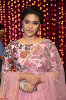 Keerthi Suresh Looks super cute in Designer Anarkali Dress at Zee Telugu Apsara Awards 2017 05.JPG