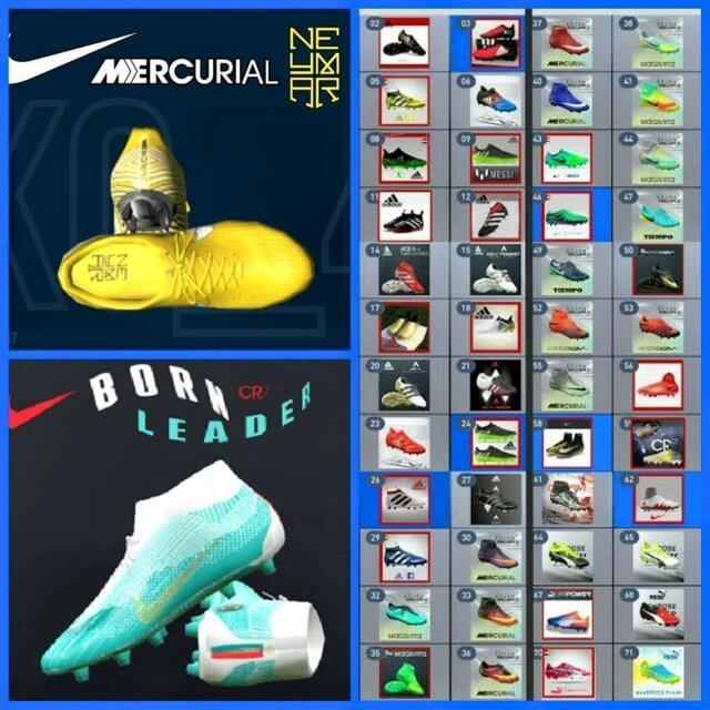 Repack Boots 2019 For PES 2017 PC