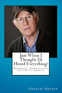 Charles Grodin's new book