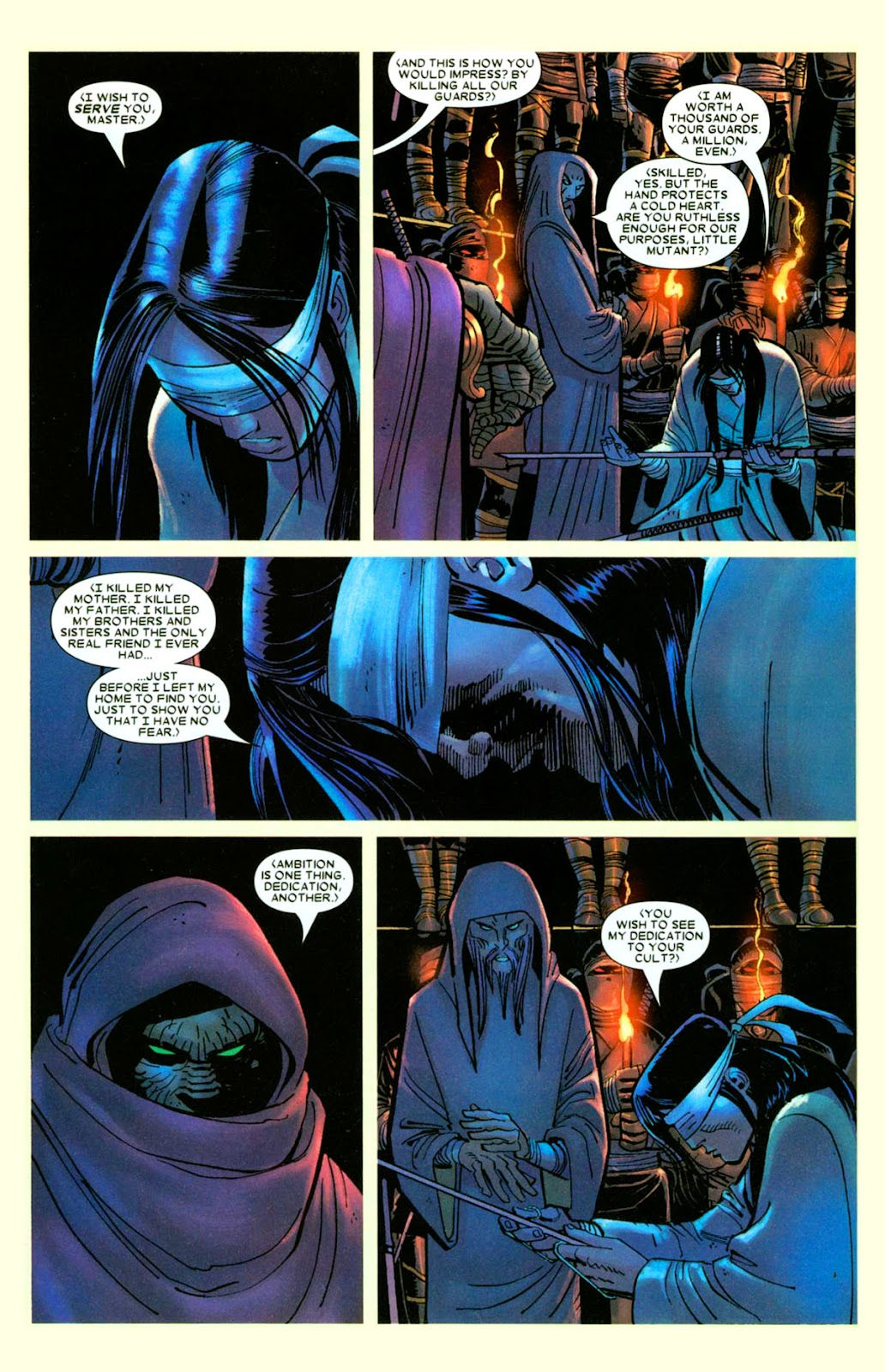 Read online Wolverine (2003) comic -  Issue #26 - 7