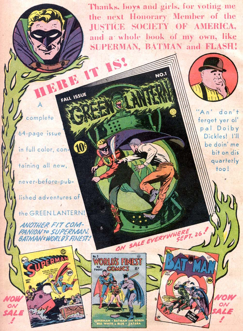 Read online All-American Comics (1939) comic -  Issue #32 - 16