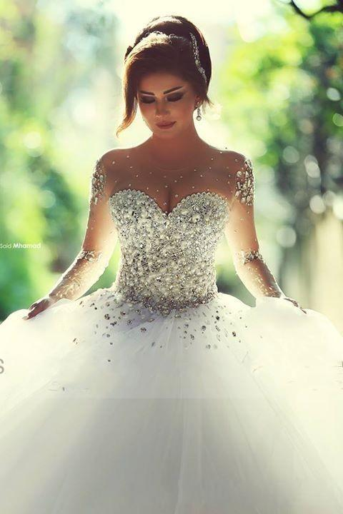 Affordable Wedding Dresses with Bling