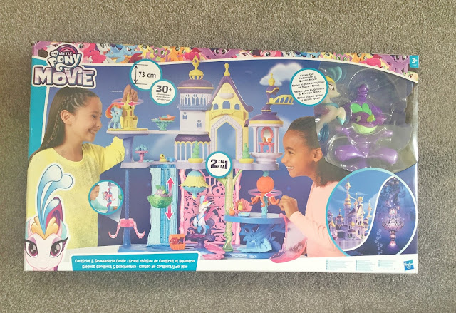 My Little pony castle in box