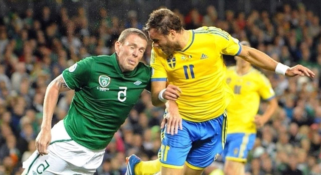 Republik Irlandia vs Swedia