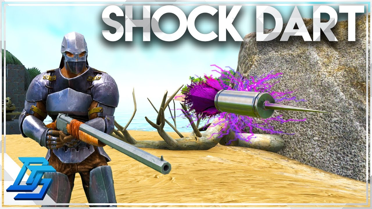 Ark Tranq Dart, Ark Shocking Tranquilizer Dart Id, Ark Tranquilizer Arrow,  Ark Simple