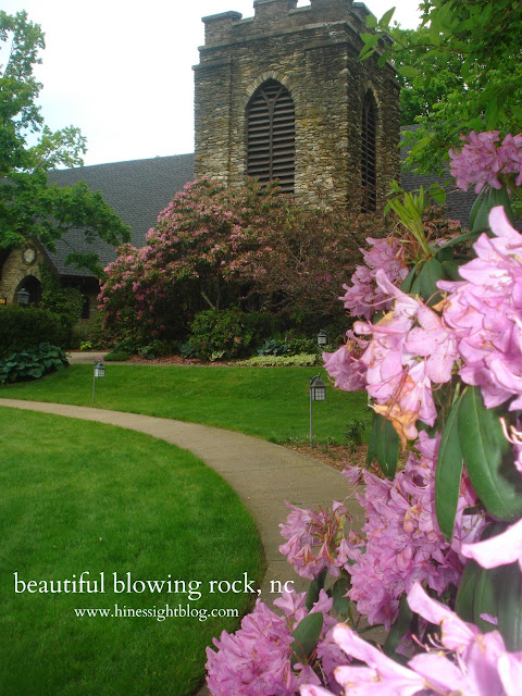 Church in Blowing Rock, N.C.