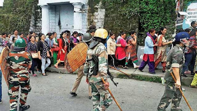 Darjeeling strike on Gorkhaland Demand