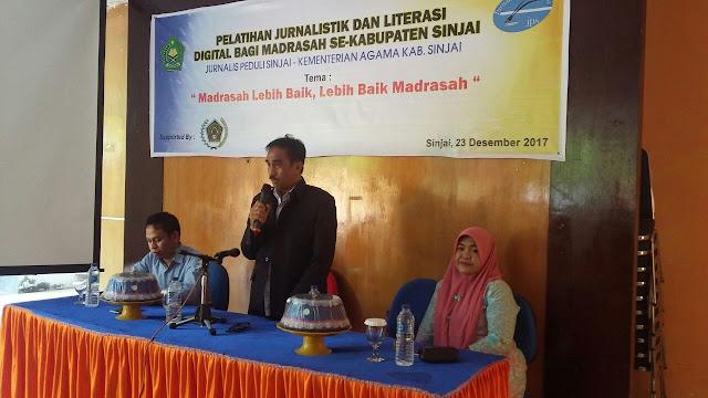 Pelatihan bagi guru dan siswa se-Kabupaten Sinjai 2