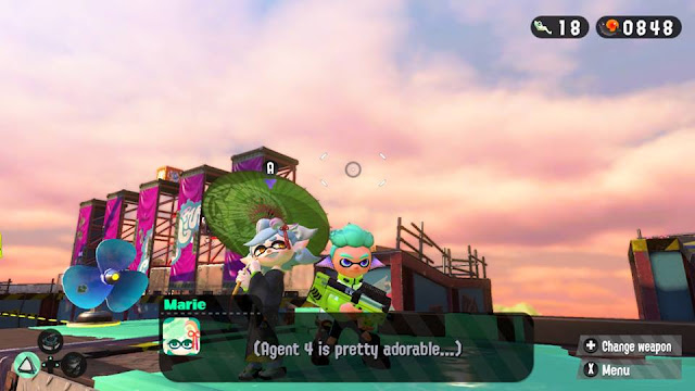 Splatoon 2 Marie Agent 4 is pretty adorable thoughts