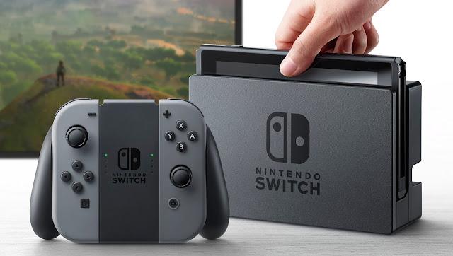 كشفت شركة نينتندوعن جهازها الجديد بأسم نينتندو سويتش  ويأتي تصميم جهاز Nintendo Switch بشكل جميل وجذاب ومختلف عن الاجهزة