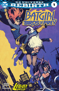 Batgirl and Birds Prey Rebirth
