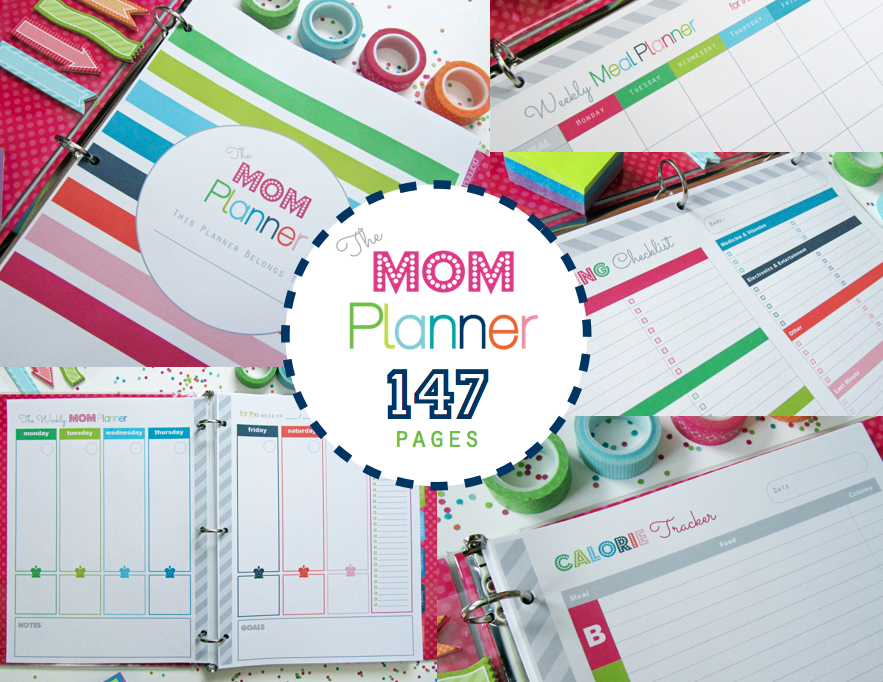 Life and home the mom planner printable home management binder