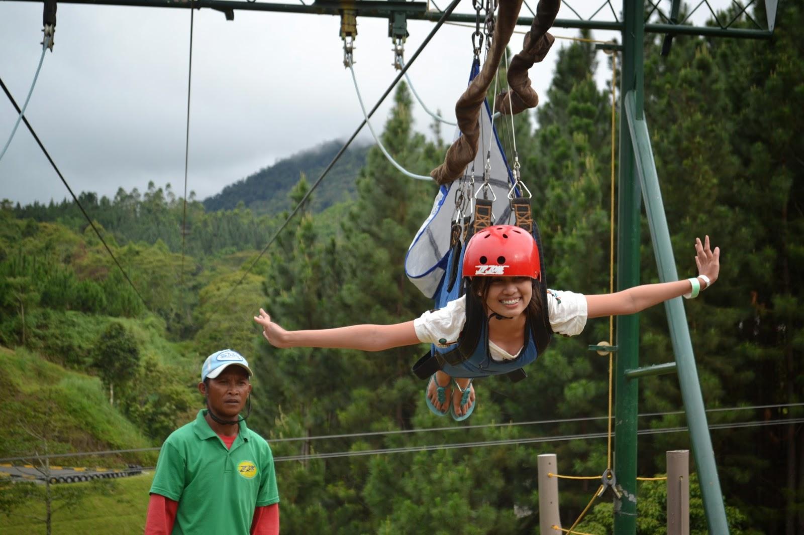 Zip Line at Dahilayan Adventure Park