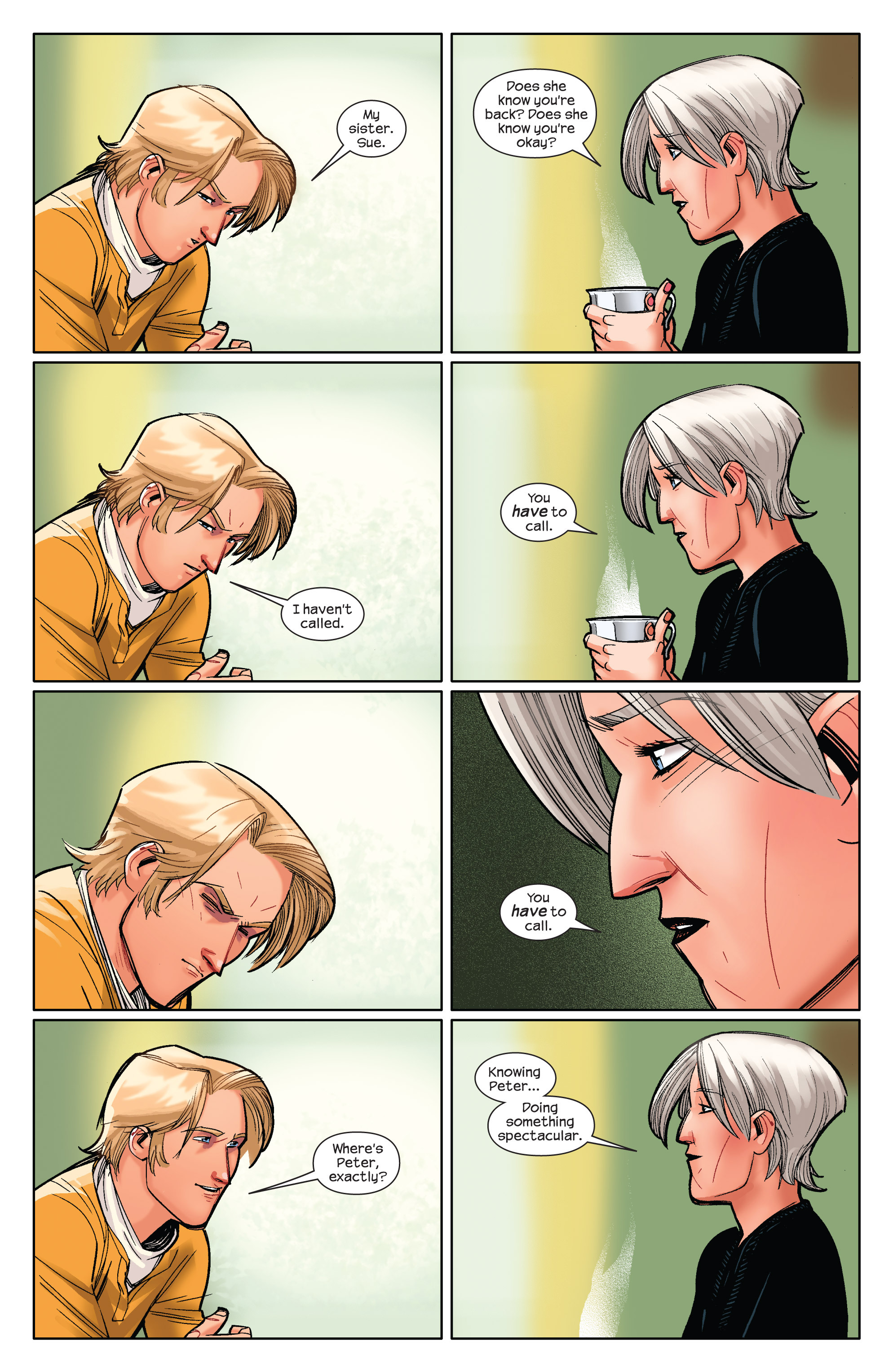 Read online Ultimate Spider-Man (2009) comic -  Issue #3 - 6