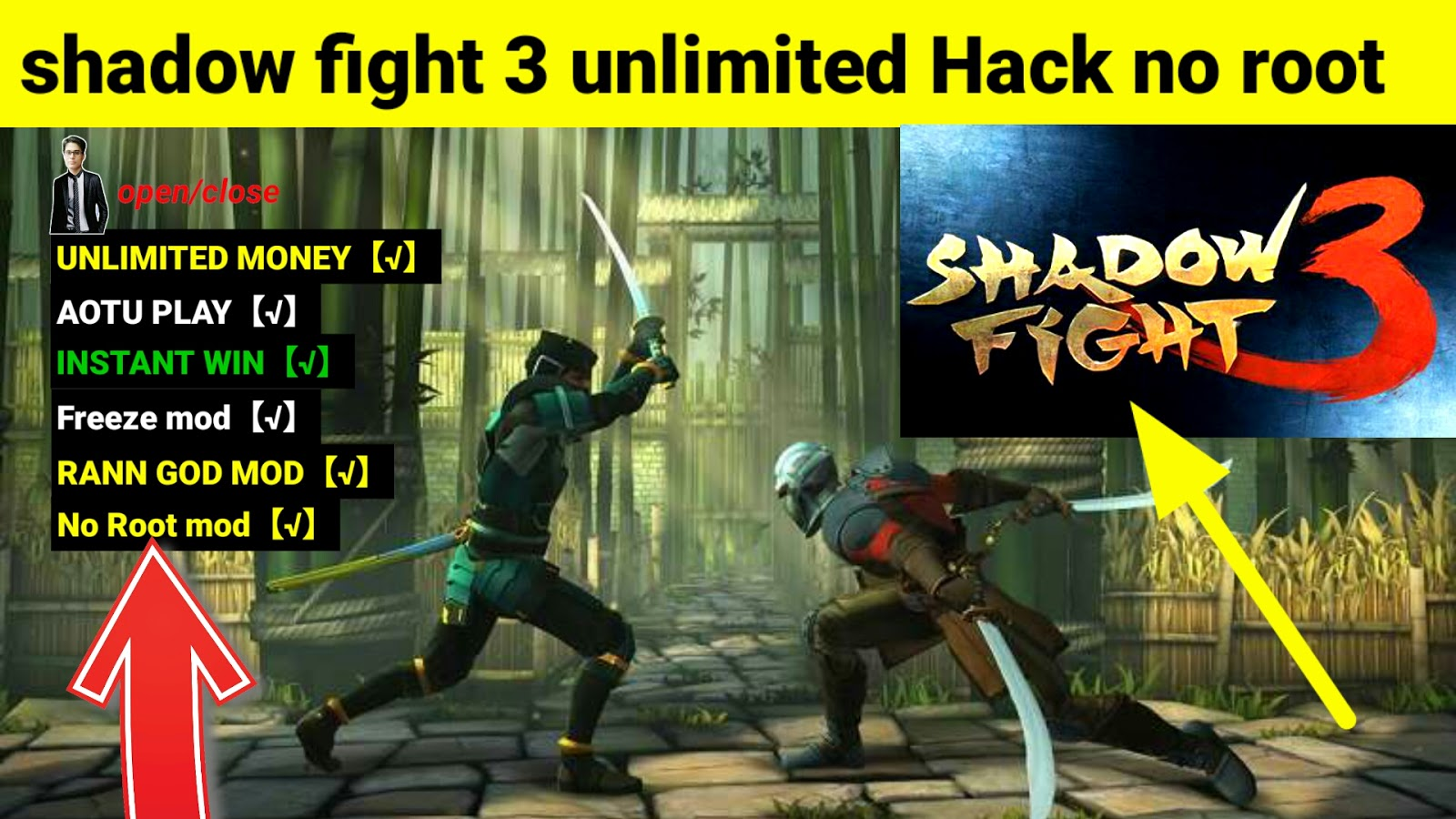 shadow fight 3 hack unlimited coins and gems: December 2017