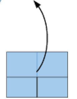 Bước 6: Mở lớp giấy ra sao cho hình giấy giống bước 3
