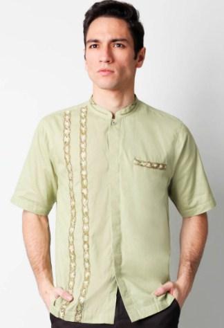 19 Desain Baju Koko Pria Untuk Tampil Maksimal   Gambar