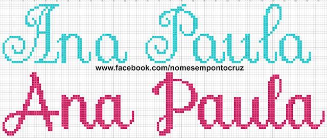 Nome Ana Paula em Ponto Cruz
