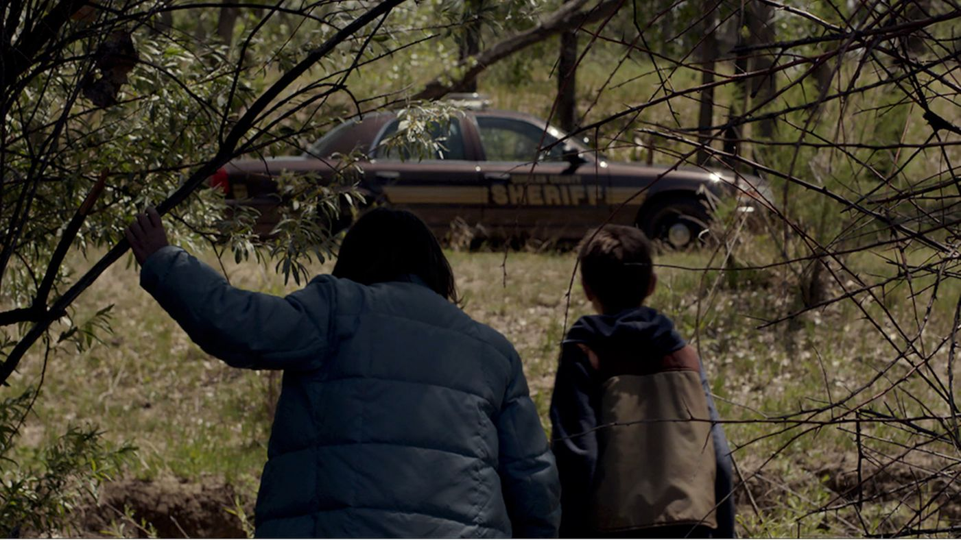 f273f7453468 Plot  A pair of ten-year-olds find an abandoned cop car in a field. When  they take it for a joyride