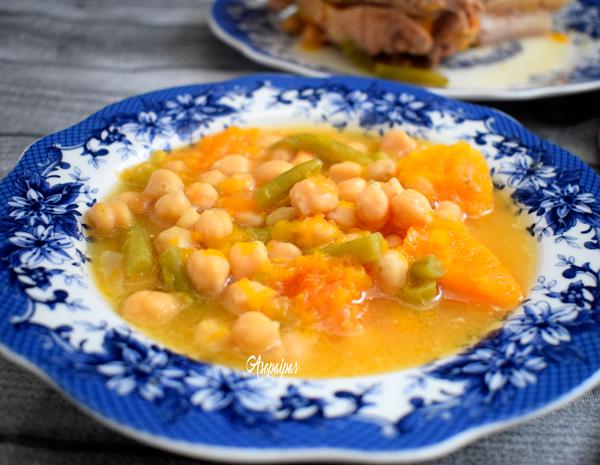 Cocido con Majaillo de Tomate